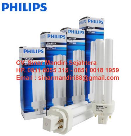 Lampu PLC Philips 2 Pin / 4 Pin 10W,13W,18W,26W