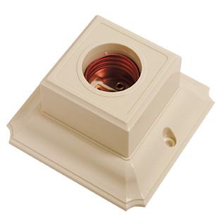 Fitting Plafon Segi Broco / Ceiling Lamp Holder Square Broco