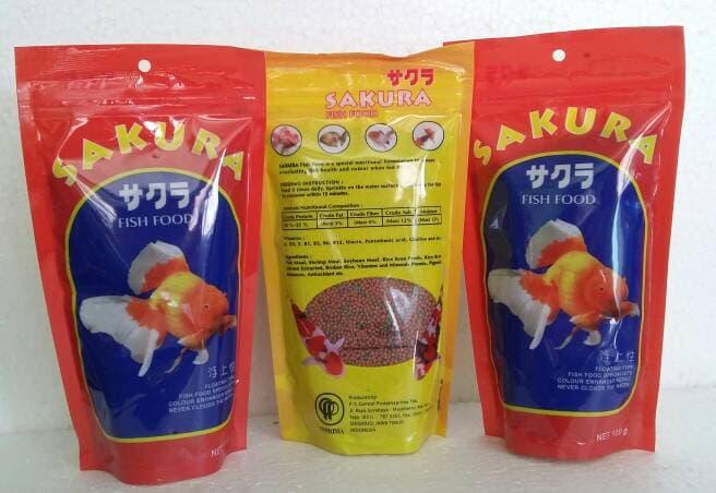 Pakan Ikan Sakura
